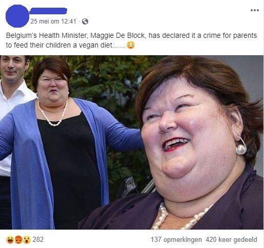 On fat bodies and credibility. The Belgian Minister of ...